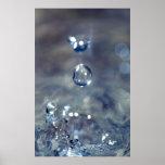 La lluvia es el sonido de un piano posters