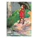 La lluvia, lluvia, sale, viene otra vez otro día comunicados personalizados