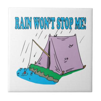 La lluvia no me parará azulejo