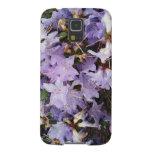La lluvia púrpura de las azaleas cae la foto fundas para galaxy s5