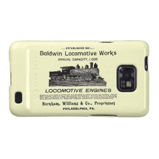 La locomotora de Baldwin funciona 1895 Samsung Galaxy S2 Funda