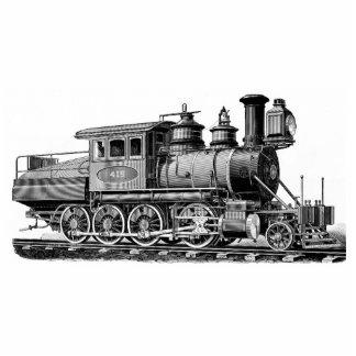 La locomotora de Baldwin funciona el Camelback Pin Fotoescultura
