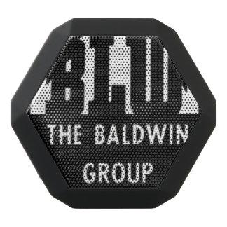 La locomotora de Baldwin funciona el logotipo Altavoces Bluetooth Negros Boombot REX