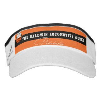 La locomotora de Baldwin funciona el logotipo