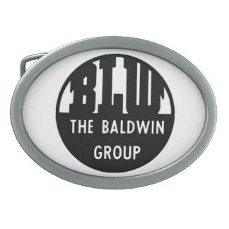 La locomotora de Baldwin funciona la hebilla del Hebilla De Cinturon Oval