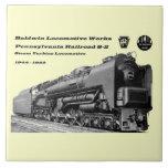 La locomotora de Baldwin funciona la turbina de va Azulejos Cerámicos
