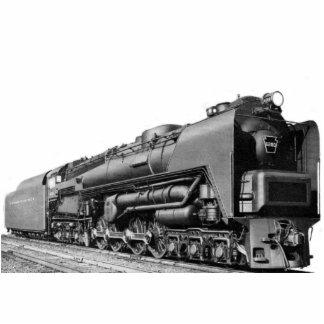 La locomotora de Baldwin funciona la turbina de va Fotoescultura Vertical