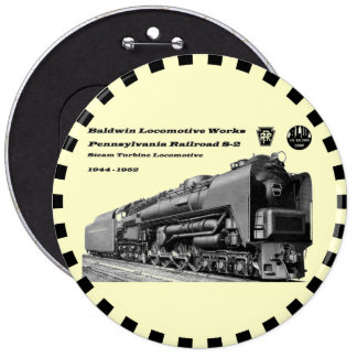 La locomotora de Baldwin funciona la turbina de va Pin Redondo De 6 Pulgadas