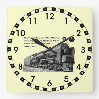 La locomotora de Baldwin funciona la turbina de va Relojes