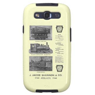 La locomotora de Baldwin funciona las locomotoras Samsung Galaxy S3 Protectores