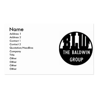 La locomotora de Baldwin funciona tarjetas de Tarjetas De Visita