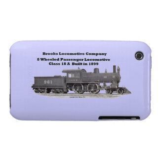La locomotora de los arroyos funciona #961 el caso iPhone 3 cárcasas