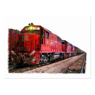 La locomotora diesel tarjetas de visita grandes