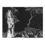 La locura del miedo de Francisco Goya Postal