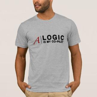 La LÓGICA es mi copiloto (para el camisetas