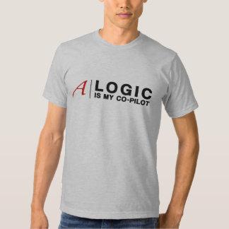 La LÓGICA es mi copiloto (para el camisetas Remera