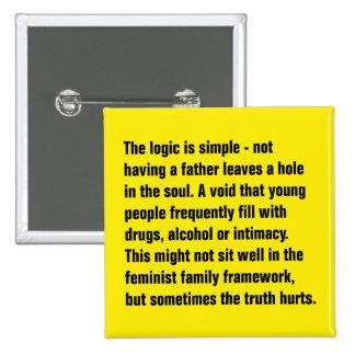 La lógica es simple - no teniendo un padre… pin cuadrado