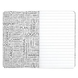 La LOGÍSTICA modela con palabras Cuaderno Grapado