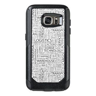 La LOGÍSTICA modela con palabras Funda Otterbox Para Samsung Galaxy S7