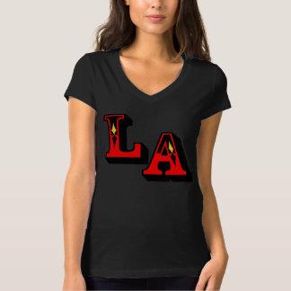 •°♥§LA Logo Stylish Bella Chic V-Neck T-Shirt§♥°• Shirt