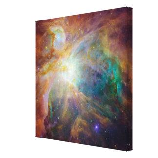La lona envuelta galería de la nebulosa 3 de Orión Impresión En Lienzo