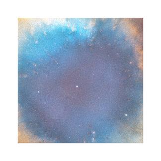 La lona envuelta ojo de la nebulosa de la hélice lona envuelta para galerías