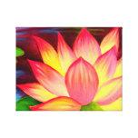 La lona imprime arte de la pintura de la flor de L Impresiones En Lona