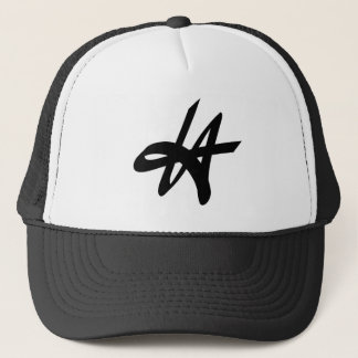 LA Los Angeles graffiti tag logo design Trucker Hat