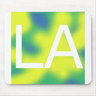 LA, Los Angeles Logo Mouse Pad