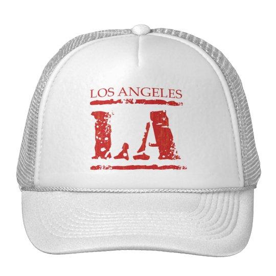 LA LOS ANGELES TRUCKER HAT