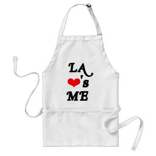 LA Loves me - Los angeles Adult Apron