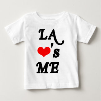 LA Loves me - Los angeles Baby T-Shirt