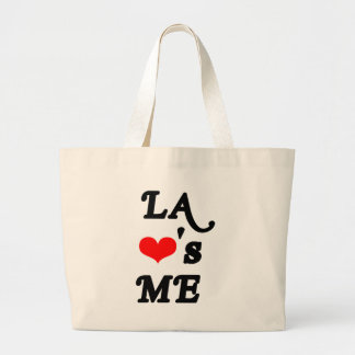 LA Loves me - Los angeles Large Tote Bag