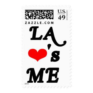 LA Loves me - Los angeles Postage Stamp