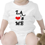 LA Loves me - Los angeles Tshirts