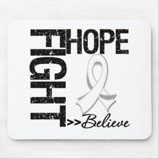 La lucha cree al cáncer de hueso de la esperanza v tapetes de ratones