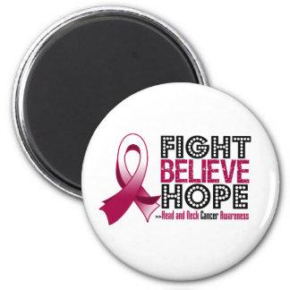 La lucha cree la esperanza - cáncer de cabeza y cu imán
