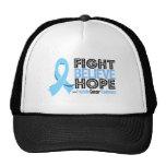 La lucha cree la esperanza - cáncer de próstata gorra