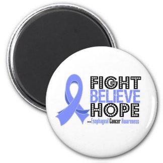 La lucha cree la esperanza - cáncer del esófago imanes