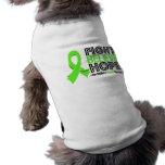 La lucha cree la esperanza - linfoma de Non-Hodgki Camisas De Perritos