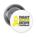 La lucha cree la esperanza - sarcoma pin