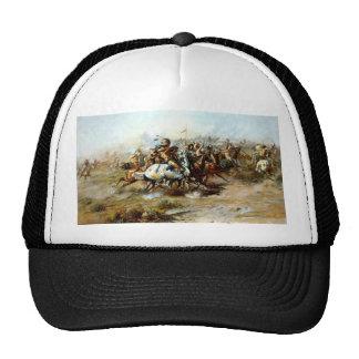 La lucha de Custer Gorras De Camionero