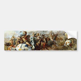 La lucha de Custer Pegatina Para Auto