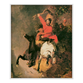 La lucha de la muerte de Charles Deas 1845 Impresiones