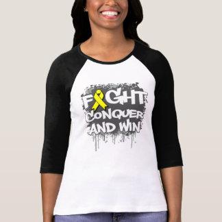 La lucha de la prevención del suicidio conquista y camiseta