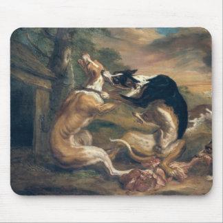 La lucha de perro, 1678 alfombrillas de ratones
