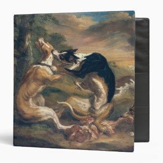 """La lucha de perro, 1678 carpeta 1 1/2"""""""