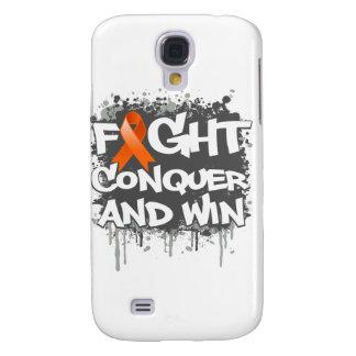 La lucha del cáncer del riñón conquista y gana funda para galaxy s4