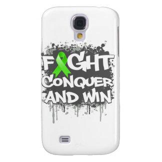 La lucha del linfoma Non-Hodgkin conquista y gana Funda Para Galaxy S4