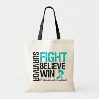 La lucha del superviviente del cáncer ovárico cree bolsa tela barata
